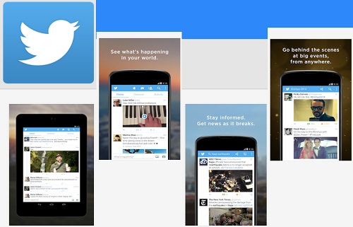 Aplikasi Chat Android Twitter