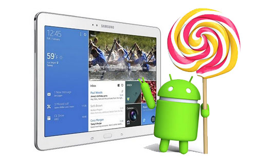 Android Lollipop Samsung Galaxy Tab Pro 12.2 LTE | Sumber : Ibtimes, Okezone