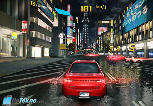 Uji Game Asphalt 8