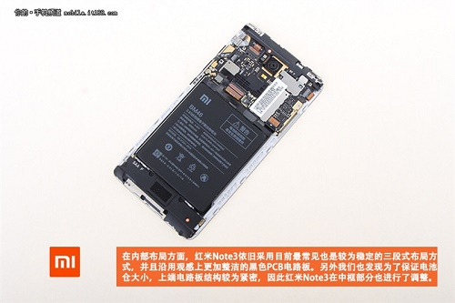 Komponen Hardware Redmi Note 3