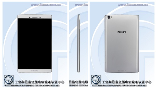 Philips S711L | Sumber : GSMdome, TENAA